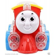 Play Design Best Musical Engine Toy with Music, Lights and Moving Action ,Multicolor