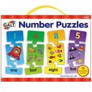 Puzzle cu numere 3 piese Galt
