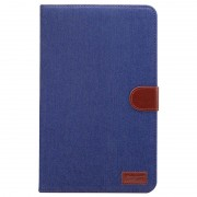 Capa Jeans Folio para Samsung Galaxy Tab A 10.1 (2016) T580, T585 - Azul