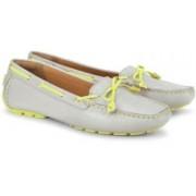 Clarks Dunbar Racer Women Loafers(Grey)