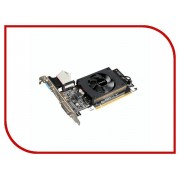 Видеокарта GigaByte GeForce GT 710 954Mhz PCI-E 2.0 1024Mb 1800Mhz 64 bit DVI HDMI HDCP GV-N710D3-1GL