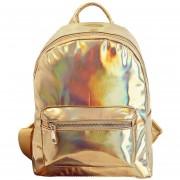 La Mochila Del Laser Del Holograma Bolsa Informal Satchel Travel Bag