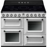 SMEG Tr4110iwh Cucina 110x60 5 Zone Cottura A Induzione Doppio Forno 122 Litri C