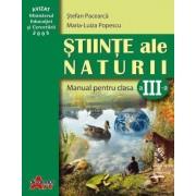 Stiinte ale naturii. Manual clasa a III-a