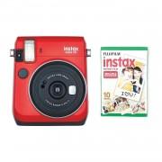 Fujifilm Instax Mini 70 Camera with 10 Shots Red