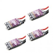 Generic 4PCS : New Arrival 4PCS Racerstar MS Series 25A ESC BLHeLi_S OPTO 2-4S Supports Oneshot125 Oneshot42 Multishot For RC Multicopter