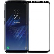 Shree Retail High Quality Screen Protector Curved Edge Tempered Glass For Samsung Galaxy S8 Plus - Black