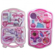 DDH Multi color little Doctor play set with Fashion Beauty Set for kids