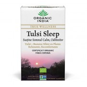 Ceai Tulsi Sleep cu Plante Relaxante, Reconfortante Somn Calm, Odihnitor, plicuri