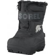 Sorel Toddler's Snow Commander Black, Charcoal, Skor, Kängor och Boots, Varmfodrade kängor, Grå, Barn, 21