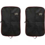 PRAHAN INTERNATIONAL Men's Coat Blazar Cover Bag Suit cover Pack of2 PIS-C2B040(Black)