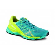 Scarpa Spin RS - blue bay/spring green - Laufschuhe 42,5