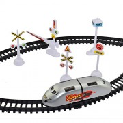 High Speed Bullet Train with Track and Signal Accessories - Battery Operated ( Battery not Included )