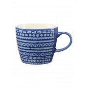Dickins & Jones Padstow Wax Resist Blue Mug