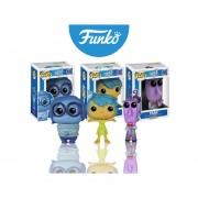 Intensamente set 3 piezas 2da edicion fear sadness joy miedo tristeza alegria Funko pop disney pixar Inside OUT Navidad 2015 Buen fin abbastanza