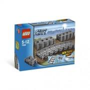 Set de constructie LEGO City Set Sine Drepte si Flexibile