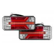 Set: LED-Rückleuchten für Anhänger mit dynamischem Blinker