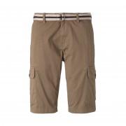 Tom Tailor Short Cargo Tom Tailor en coton stretch beige - BEIGE - 31