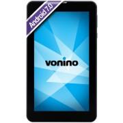 "Tableta Vonino Pluri C7, Procesor Quad-Core 1.3GHz, IPS Capacitive touchscreen 7"", 1GB RAM, 8GB Flash, 3.2MP, Wi-Fi, 3G, Android (Gri inchis)"