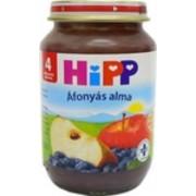 Hipp bébiétel, áfonyás alma 190 g