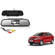 4.3 Inch Rear View TFT LCD Monitor Mirror Screen Display For Reverse Parking and Rear View For Tata Zest