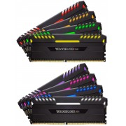 Corsair CMR64GX4M8X3600C18 Vengeance RGB 64GB (8x8GB) DDR4 3600 (PC4-28800) C18 Desktop Memory Intel X299 Series