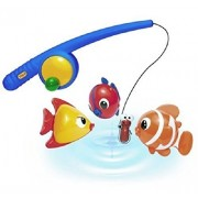 Made Of High Quality Plastic In Vibrant Colors - Tolo Toys Funtime Fishing