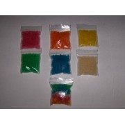 7 Packs Glow in the Dark Jelly BeadZ® Water Gel 10 Gram Each Pack