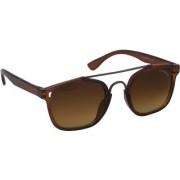 Laurels Maestro Men Brown Color Wayfarer Sunglass (LS-MAS-090909)