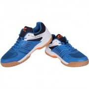 Nivia Men'S Blue Gel Verdict Badminton Shoes