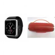 Mirza GT08 Smart Watch and Mini Xtreme K5 + Bluetooth Speaker for MOTOROLA defy plus(GT08 Smart Watch with 4G sim card camera memory card |Mini Xtreme K5 + Bluetooth Speaker )