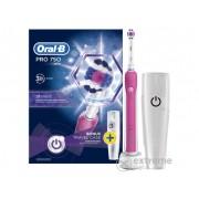 Perie de dinti electrica Oral-B PRO 750 3D White + toc