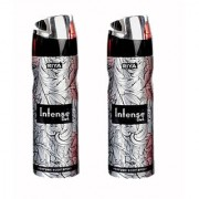 Riya Intense dark perfume Body Spray - For Men (150 ml)pack of 2