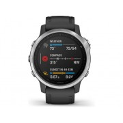 Garmin Reloj deportivo GARMIN Fenix 6S (Bluetooth - Hasta 9 días de autonomía - Negro)