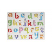 Baybee Premium Wooden Puzzles -Upper,CaseSmall Alphabet Letters,0 to 20 Puzzle, Geometric Shape Sorter,Wooden Magnetic Writing Board,Classroom Puzzle,Tangram Puzzle (Small Letters)