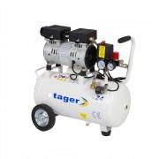 Compresor aer silentios Stager HM24JW-0.55 0.75CP, 24L, 8bar