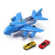 Airplane Airbus Toy for Kids,Big Model Plane with Music Air Transport Toy for Introducing Aeronautical Knowledge -Best Gift for Kids Age 3 and Up