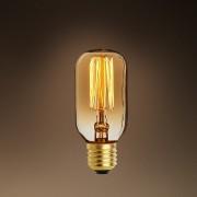 Set de 6 becuri E27 Edison Compact goldline filament