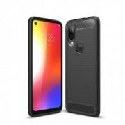 Carcasa TECH-PROTECT TPUCARBON Motorola One Vision Black