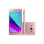Smartphone Samsung Galaxy J2 Prime TV SM-G532MT Quad Core 1.4Ghz, 8MP e Flash Frontal, 16GB, Tela 5, 4G, Duos, Desbloq - Rosa