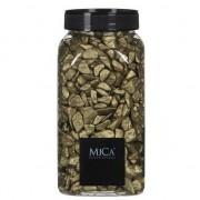 Mica Decorations Decoratie/hobby stenen goud 1 kg