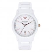 Armani orologi Ar1467 Ceramica bianco donna