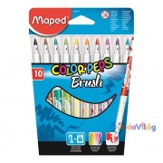 "Filc készlet 10db-os MAPED ""Color Peps Brush"" kimosható"