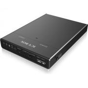 Icy Box M.2 SSD dokkoló- és klónozóáll.