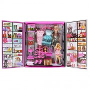 Tootpado 1c122 Party Girl Doll and Her Fun Fashion Princess Personal Style Wardrobe Set, Pink
