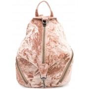 Rebecca бархатный рюкзак на молнии Rebecca Minkoff