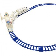 ShopMeFast Transformers Electric Track Train Set With Light And Sound Toy for kids