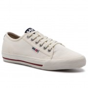 Гуменки HELLY HANSEN - Fjord Canvas Shoe V2 114-65.011 Off White /Navy/Plum