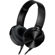 Extra Bass Black MDR-XB450 Wired Headphones with Mic