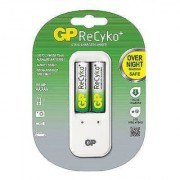 Godrej GP ReCyko+ Charger plus 2 Rechargeable AA Battery